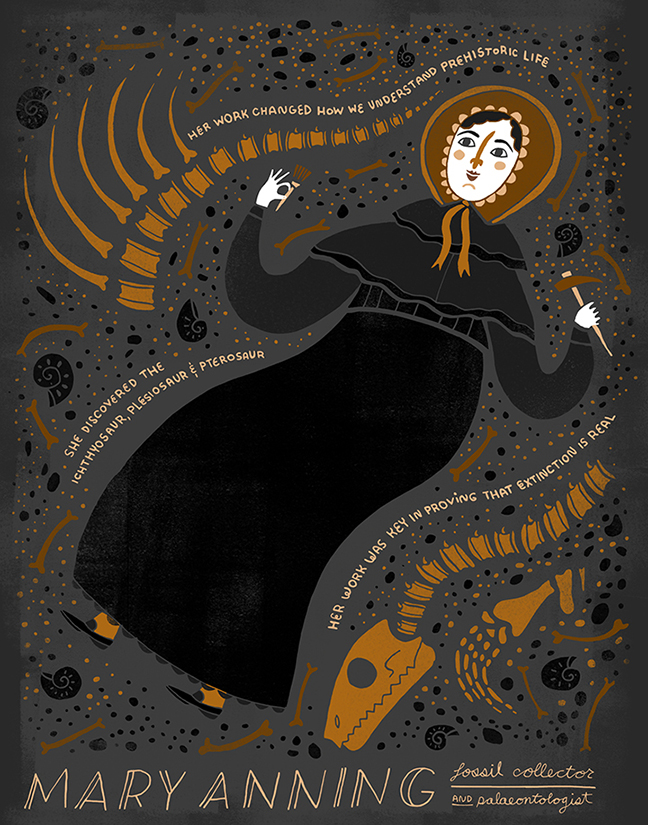 Postcards a Women in Science Mary Anning