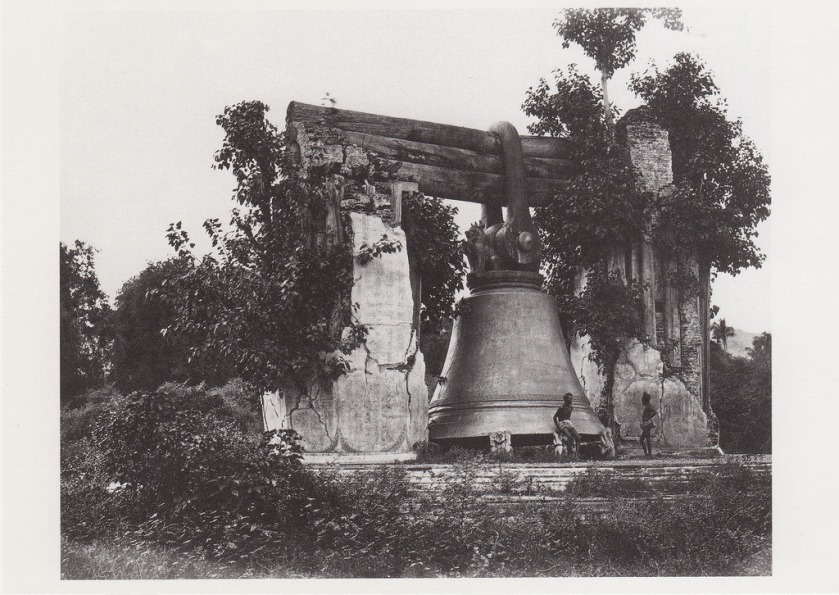 Samuel Bourne the Great Bell of Mengoon Said to Weigh 90 Tons